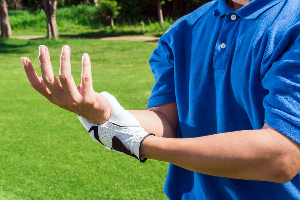 Golf Wrist Injury Treatment